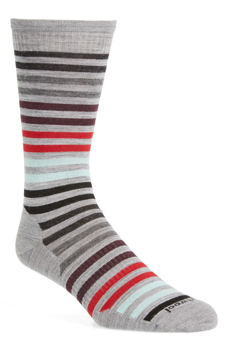 SMARTWOOL Spruce Street Merino Wool Blend Socks, Main, color, 039
