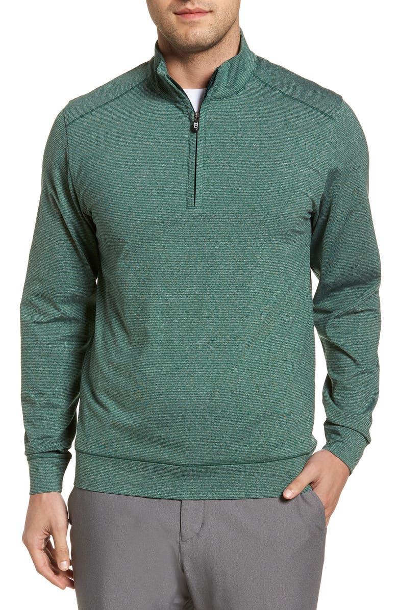 CUTTER & BUCK Shoreline Classic Fit Half Zip Pullover, Main, color, 308