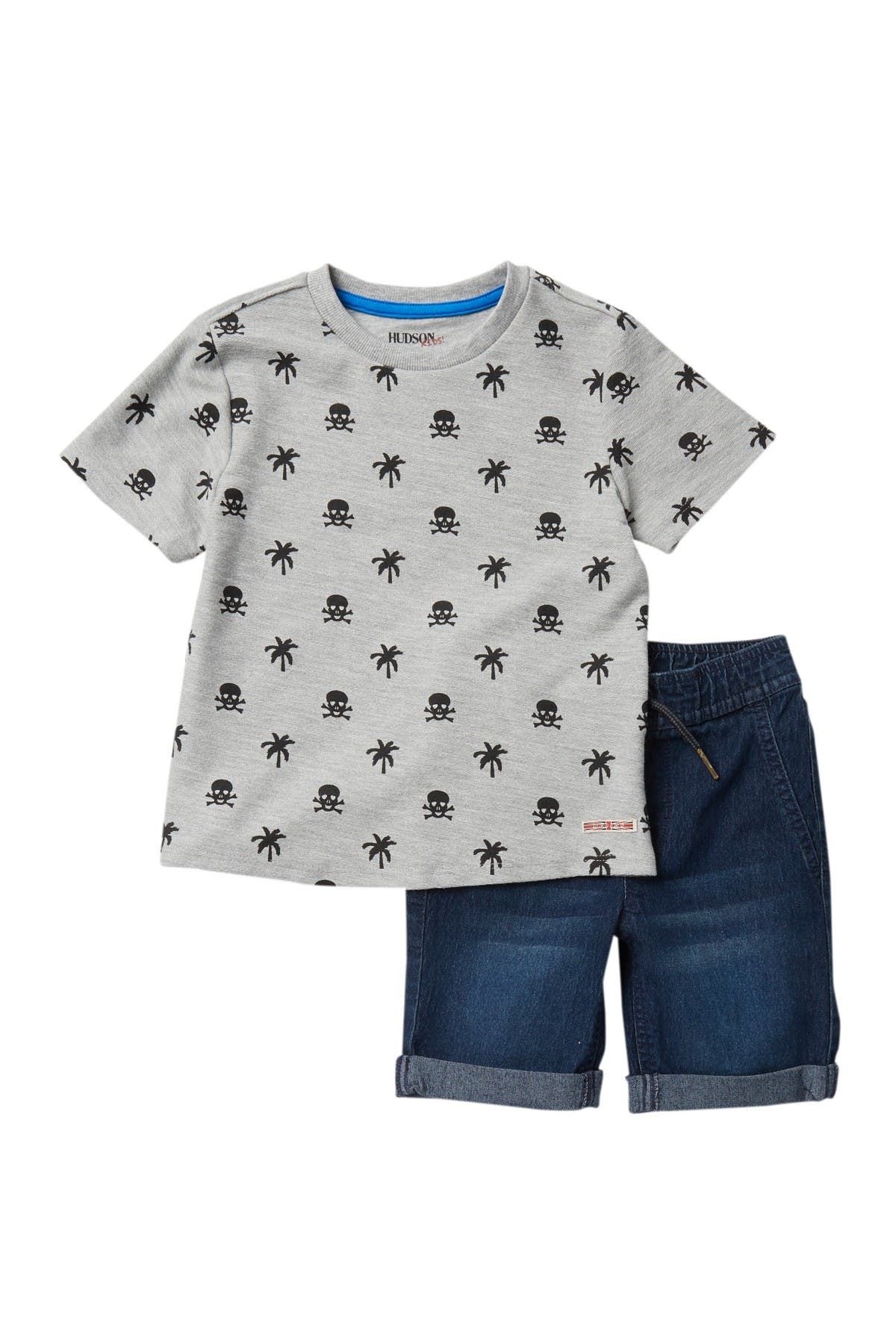 Image of HUDSON Jeans Printed French Terry 2-Piece Set