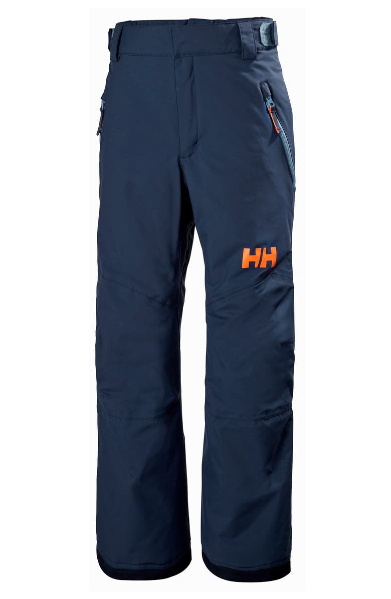HELLY HANSEN Legendary Waterproof PrimaLoft<sup>®</sup> Insulated Snow Pants, Main, color, NORTH SEA BLUE