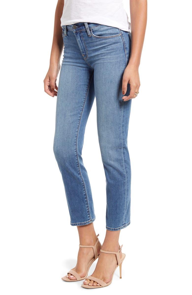 HUDSON JEANS Nico Cigarette Jeans, Main, color, LO-FI