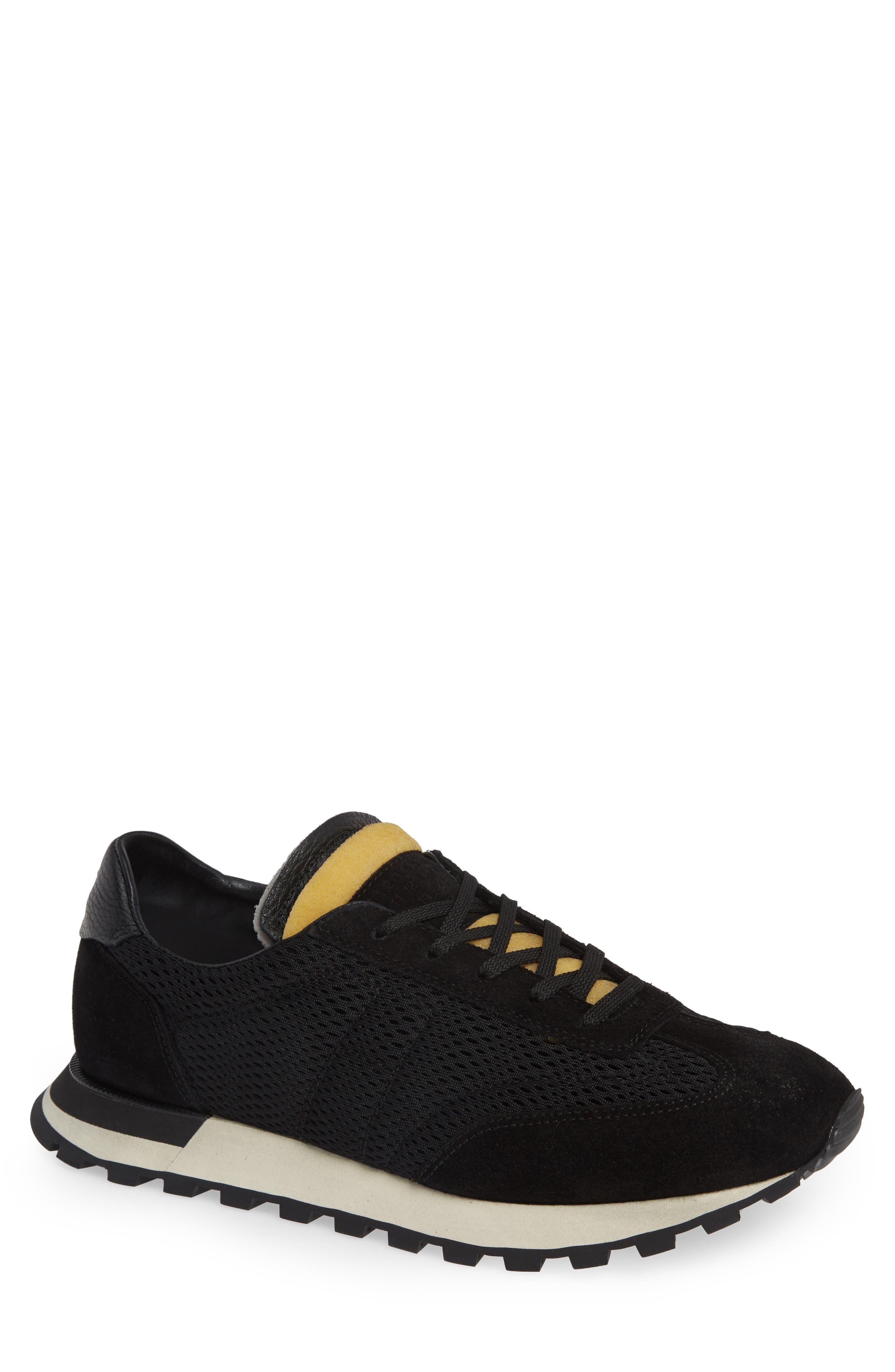 Maison Margiela Quilted Sneaker, Black