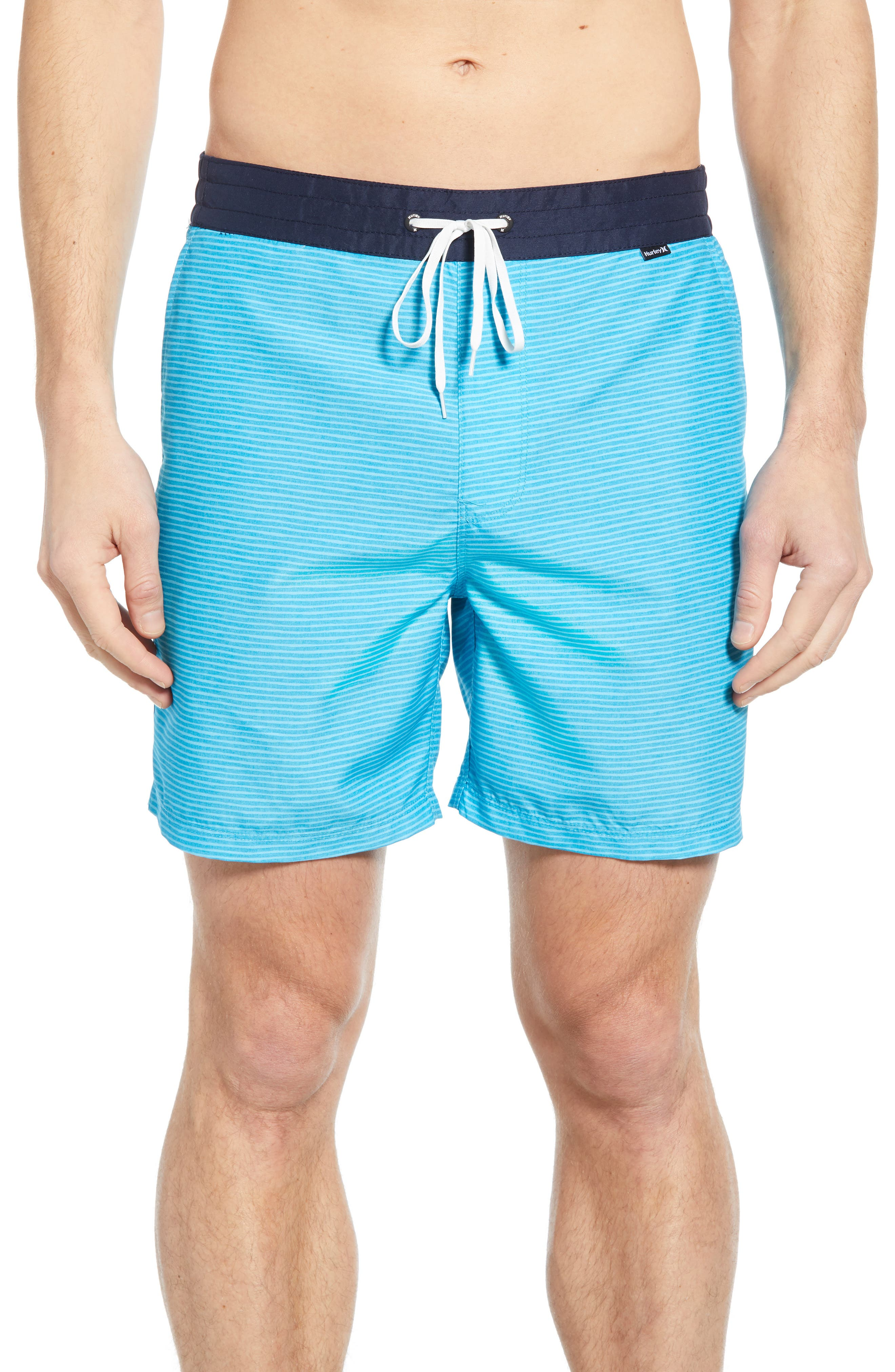 Hurley Dazed Volley Swim Trunks, Blue
