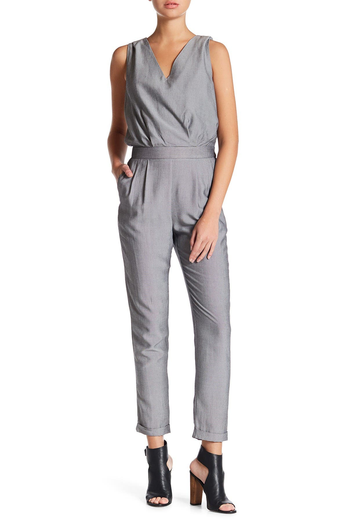 Image of FRNCH Sleeveless Jumpsuit