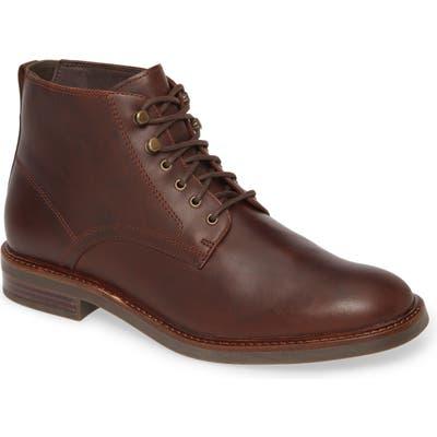 Sperry Gold Elite Waterproof Plain Toe Boot, Brown