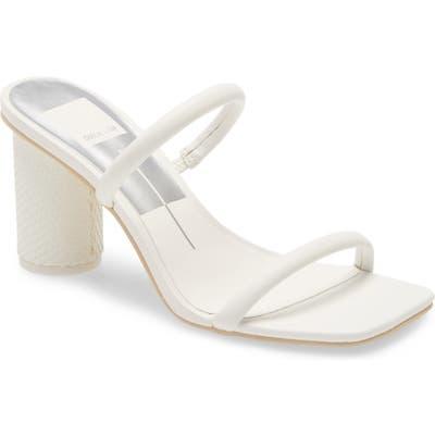 Dolce Vita Noles City Slide Sandal, White