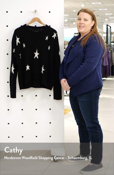 Markus C Star Pattern Cashmere Sweater, sales video thumbnail