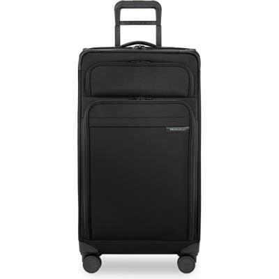 Briggs & Riley 30-Inch Expandable Wheeled Trunk - Black