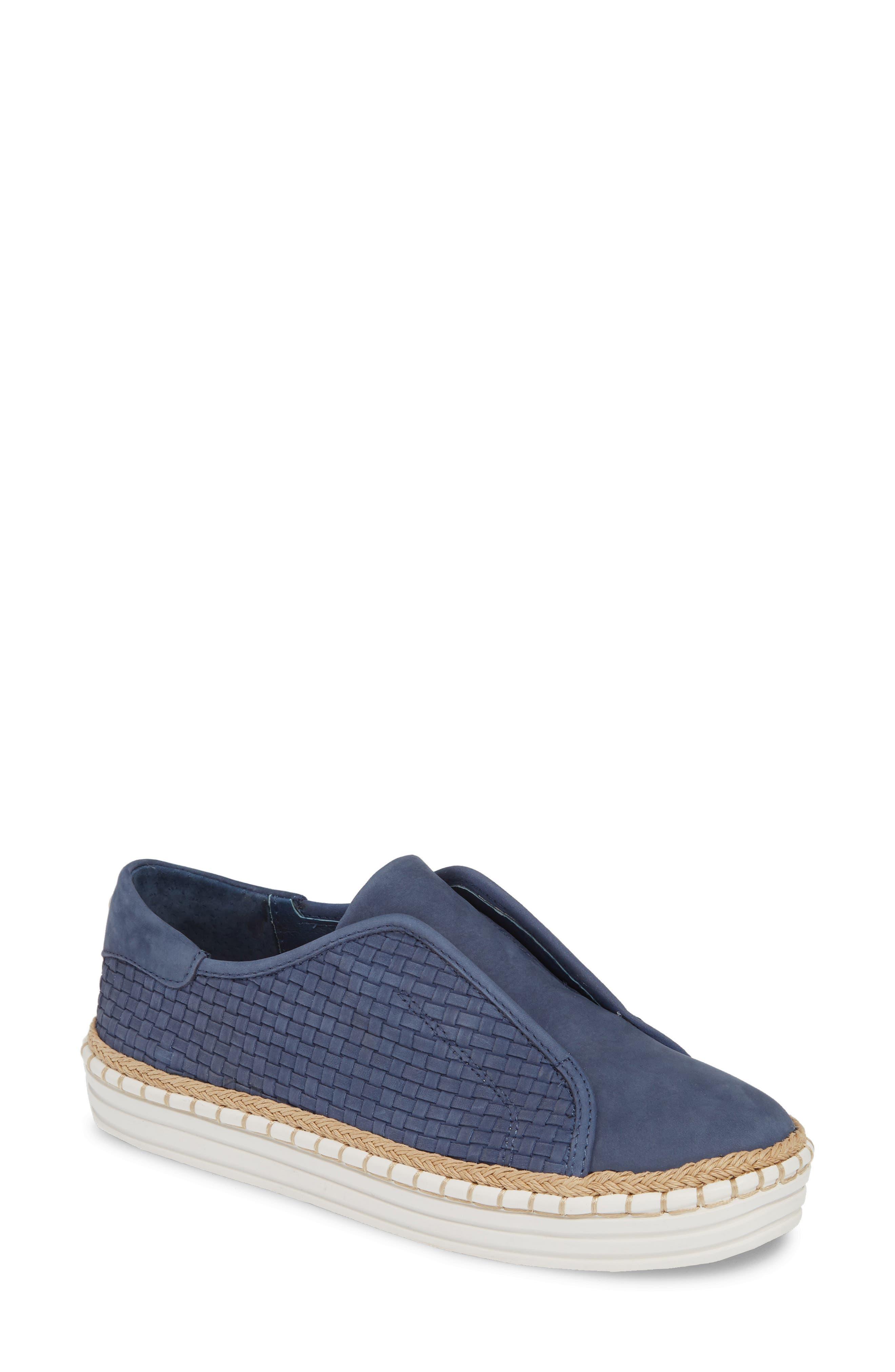 Jslides Kayla Slip-On Sneaker, Blue