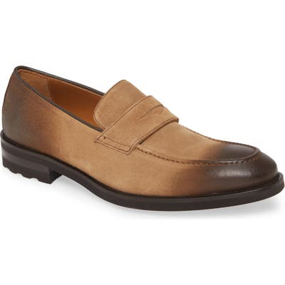 Bruno Magli Bryan Penny Loafer- Brown