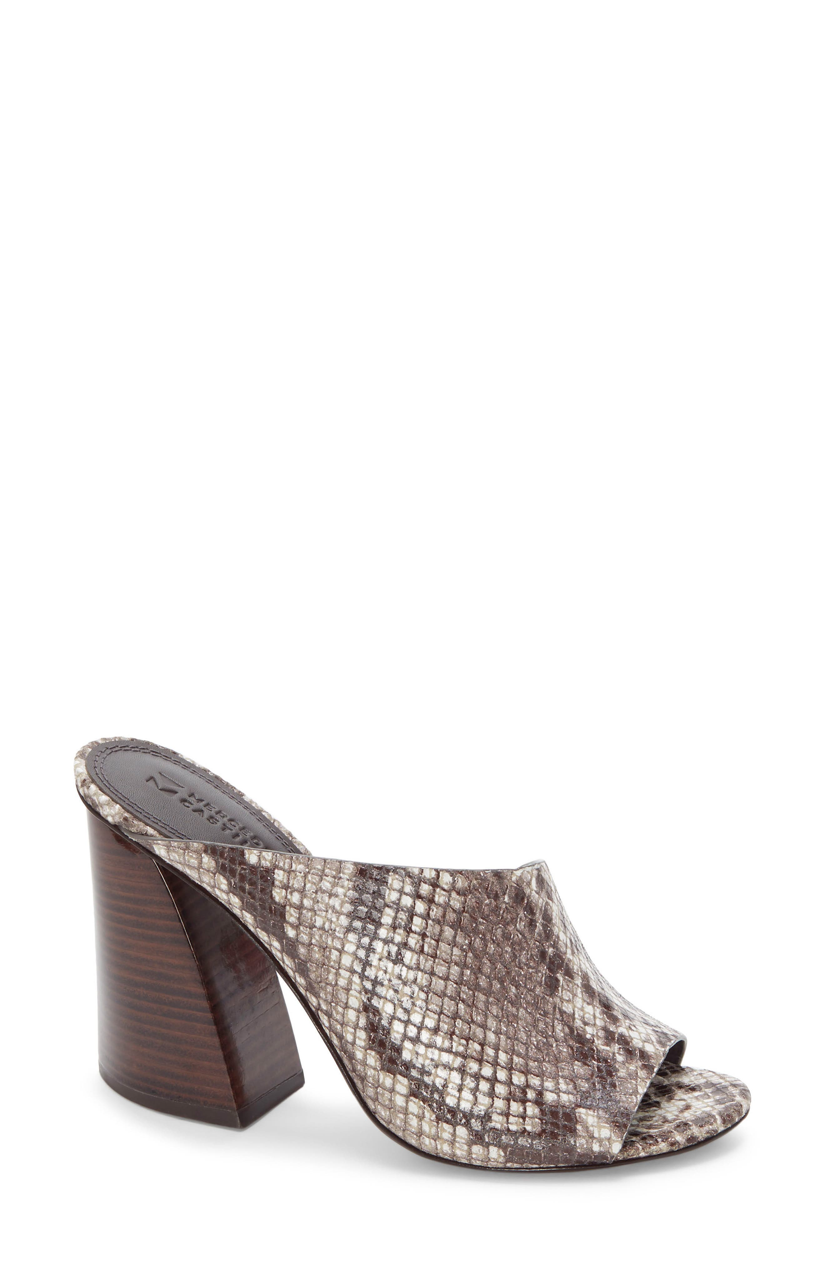 Izar Mule, Main, color, TEAK PRINTED SNAKE