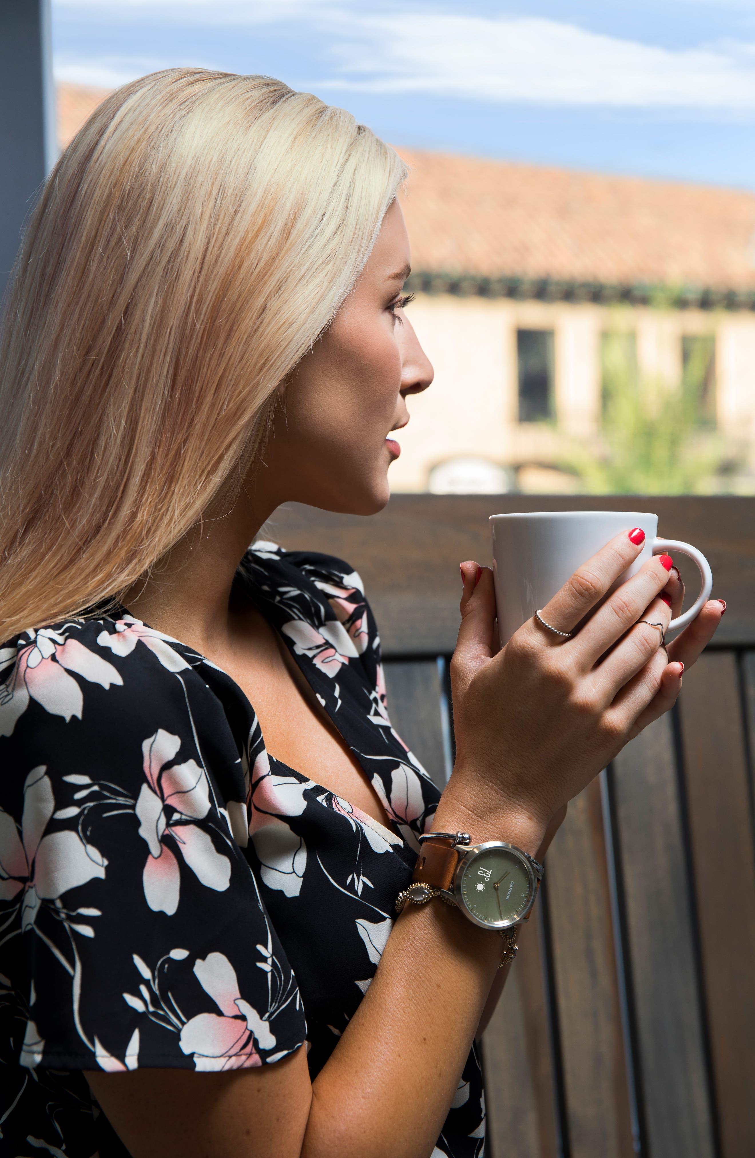 ,                             Vivomove HR Hybrid Smart Watch, 43mm,                             Alternate thumbnail 17, color,                             042