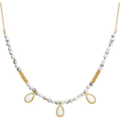 Anna Beck Howlite Frontal Necklace