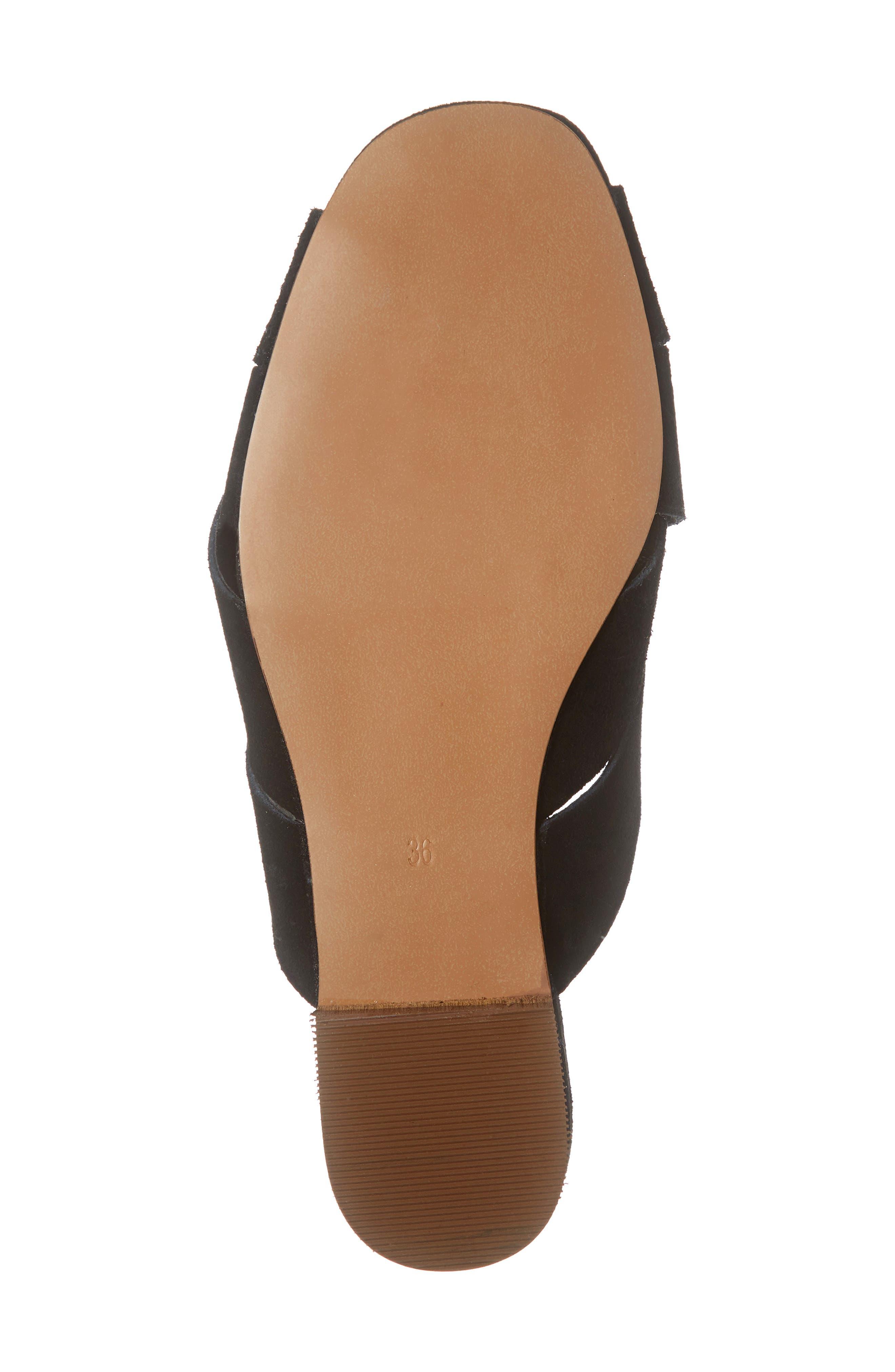 ,                             Hop Cross Slide Sandals,                             Alternate thumbnail 7, color,                             BLACK