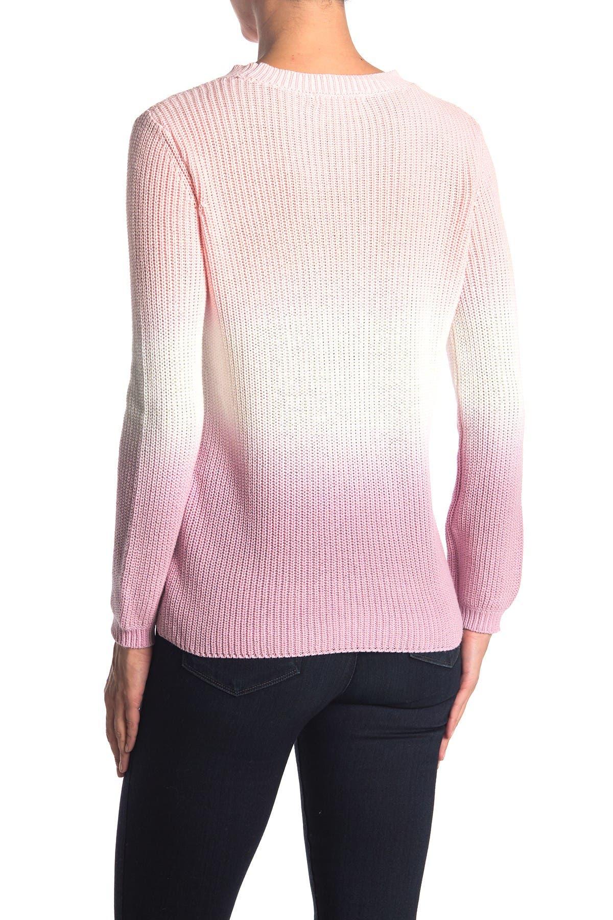 Image of Workshop Long Sleeve Tie Dye Crewneck Sweater