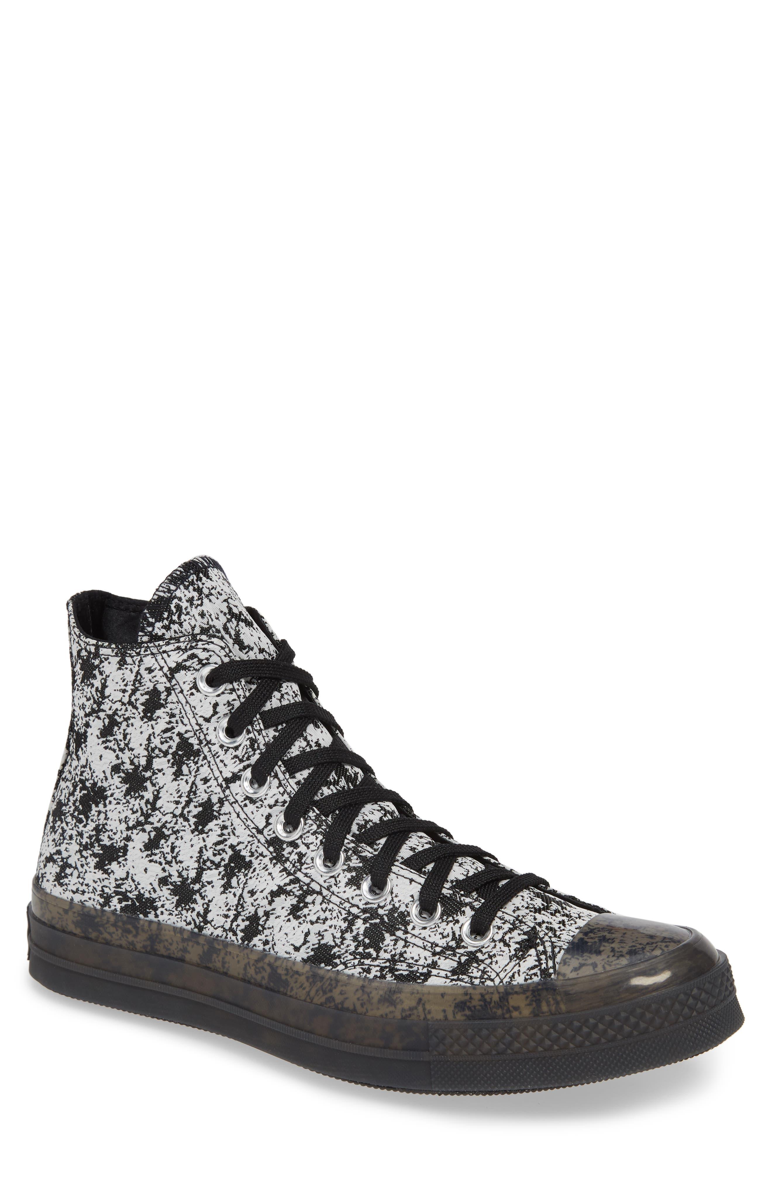 Converse Chuck Taylor All Star 70 High Top Jacquard Sneaker, Black