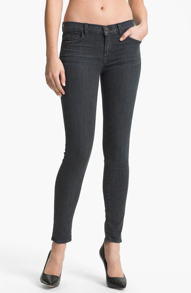 J BRAND Super Skinny Stretch Jeans, Main, color, 496