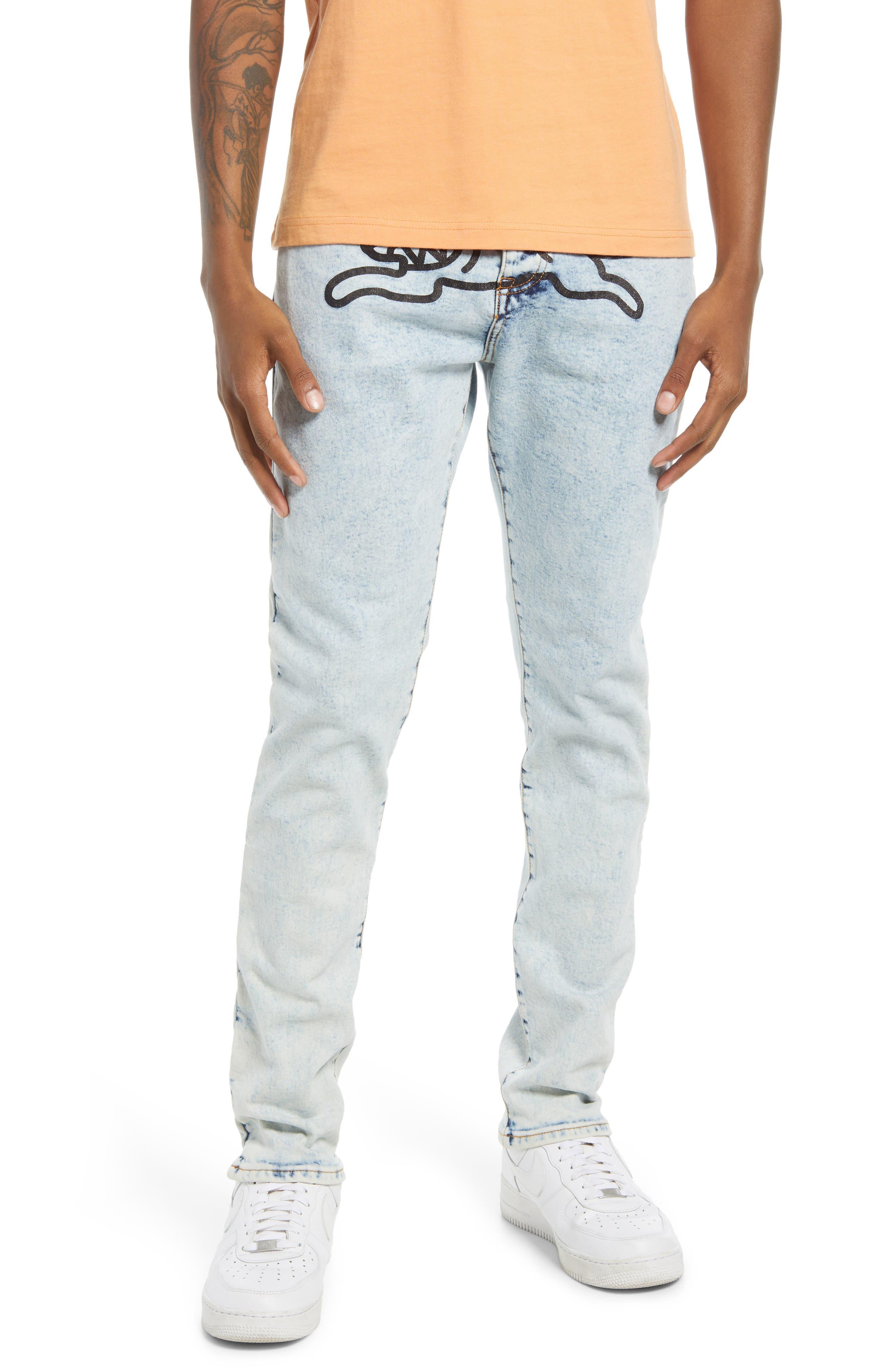 Men's Icecream Men's Running Dog Jeans