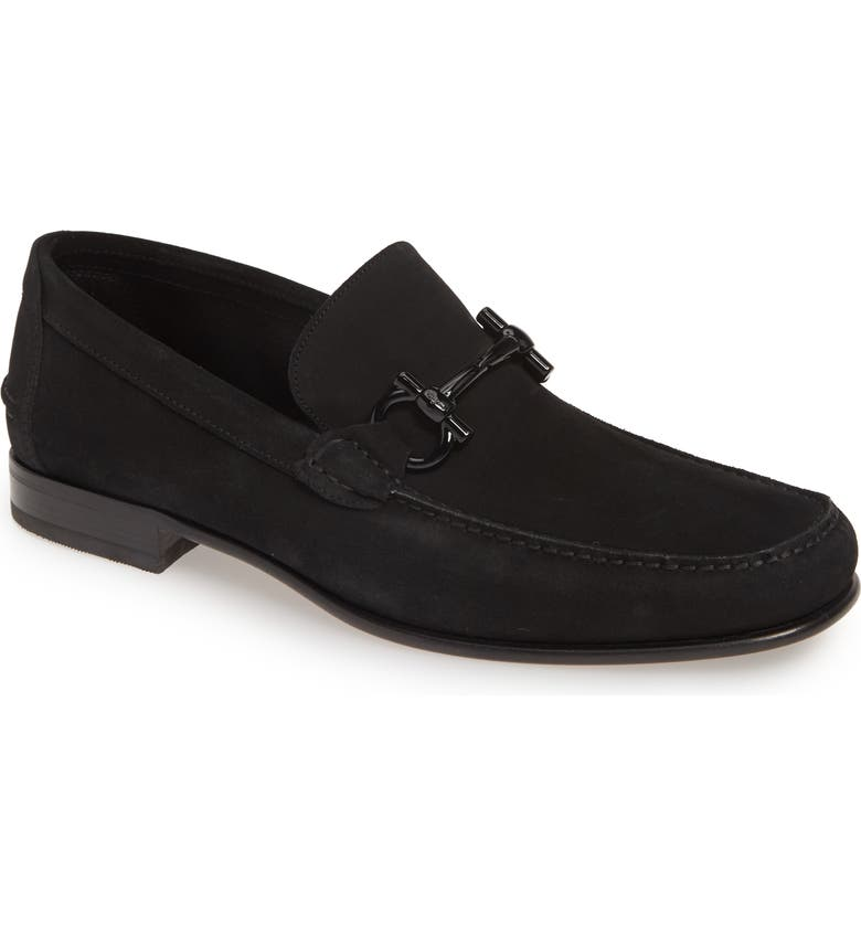 SALVATORE FERRAGAMO Tuccio Bit Loafer, Main, color, NERO