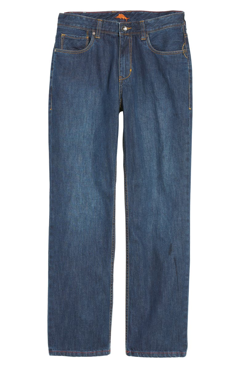 TOMMY BAHAMA 'Santorini' Relaxed Fit Jeans, Main, color, 402