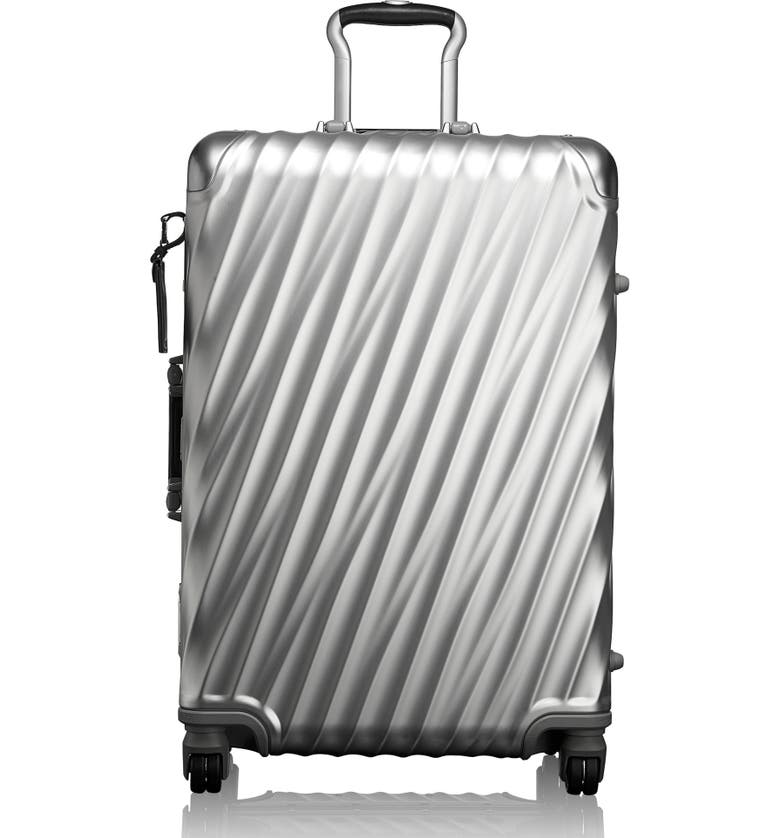TUMI 19 Degree 26-Inch Short Trip Wheeled Packing Case, Main, color, SILVER