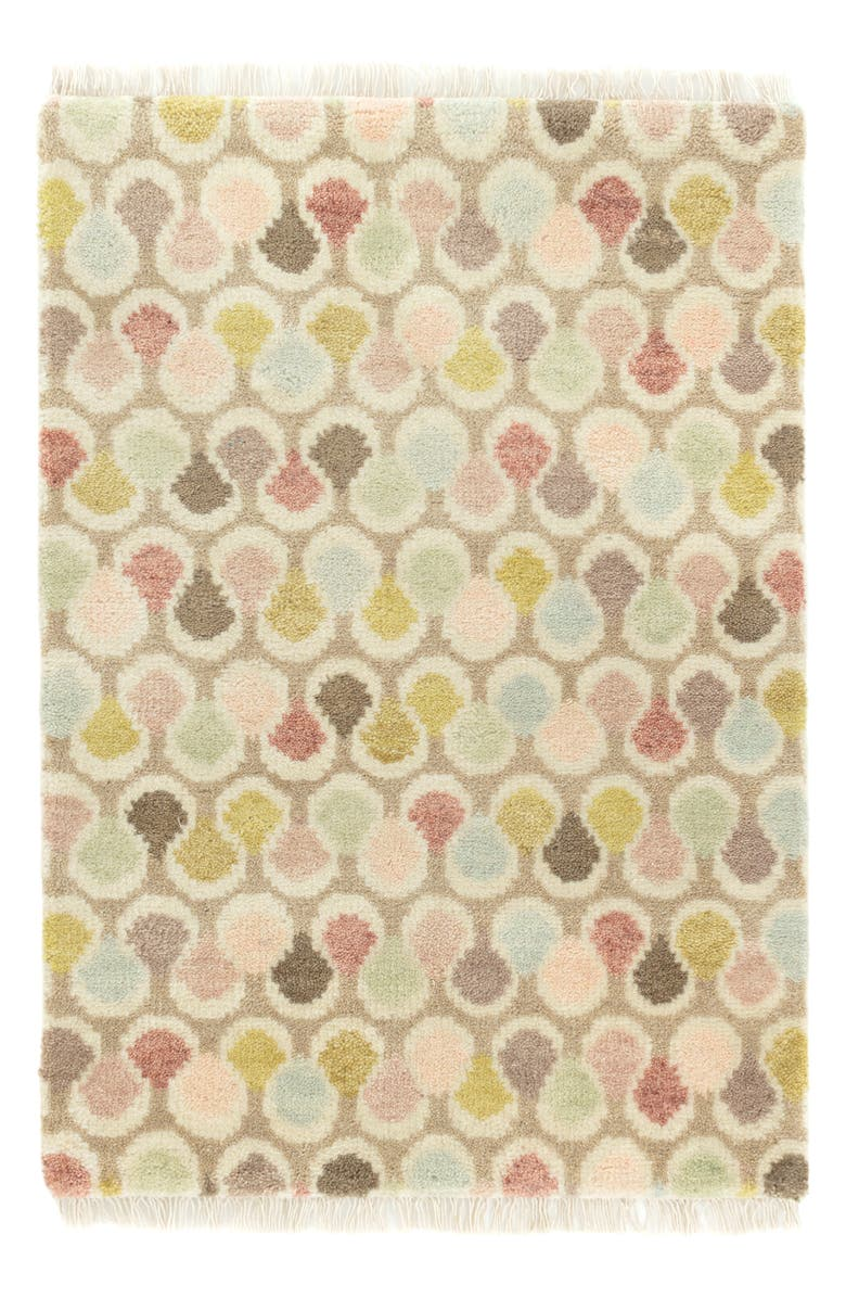 DASH & ALBERT Porter Pastel Hand Knotted Rug, Main, color, MULTI