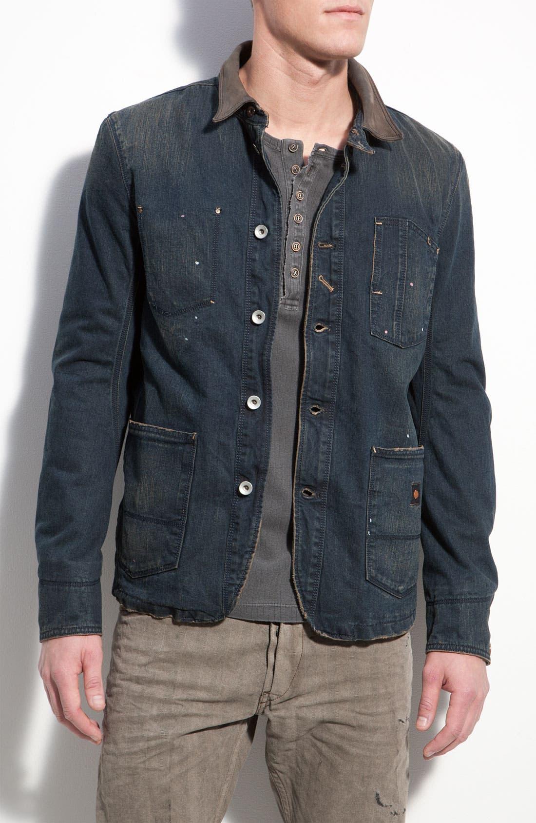 Denim Jacket, Main, color, 900