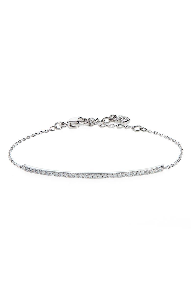 SWAROVSKI Only Crystal Bracelet, Main, color, 040