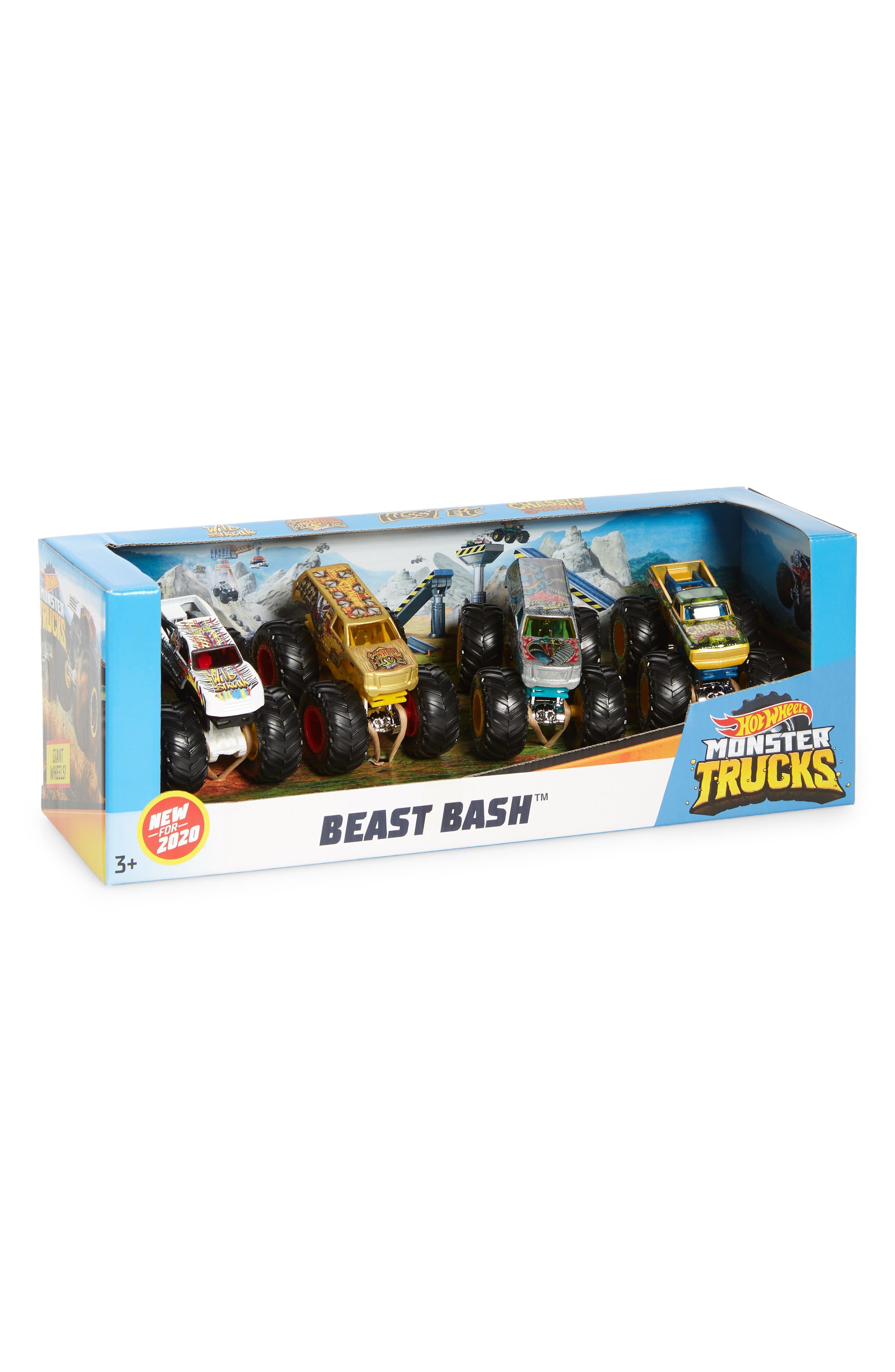 Image of Mattel Hot Wheels Monster Trucks - Cool Crashers Set