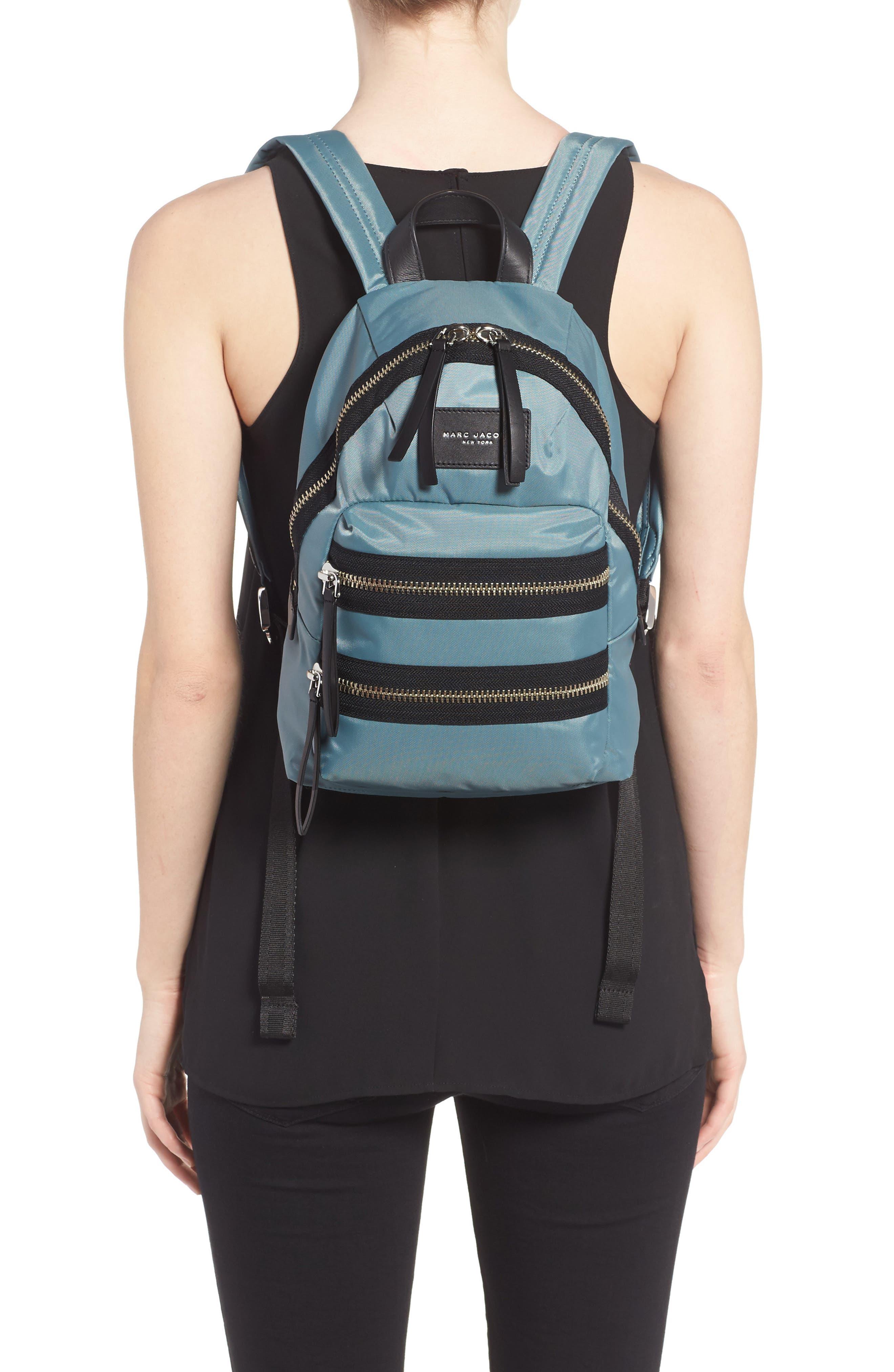 ,                             'Mini Biker' Nylon Backpack,                             Alternate thumbnail 12, color,                             453