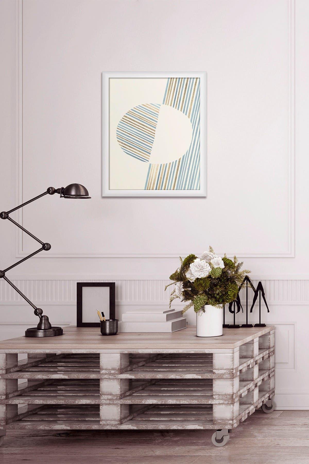 Image of PTM Images Pink & Mint 2 Framed Print