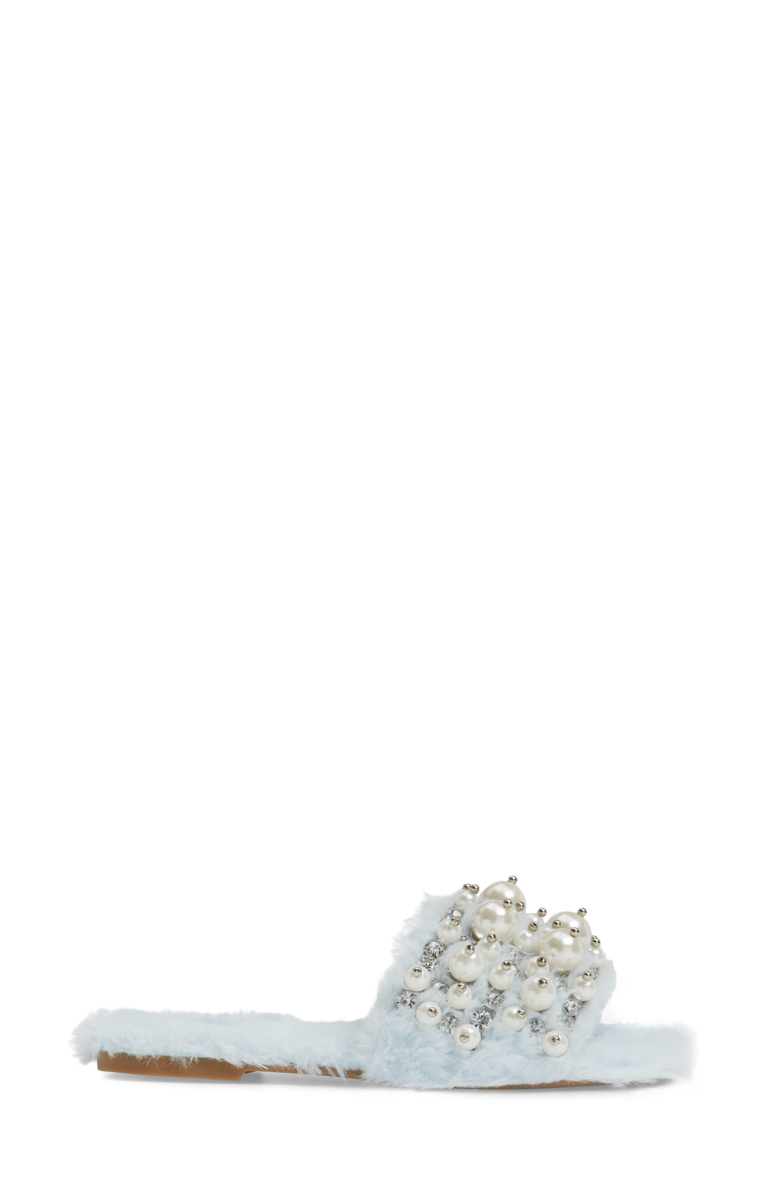 ,                             Facil Embellished Slide Sandal,                             Alternate thumbnail 21, color,                             436