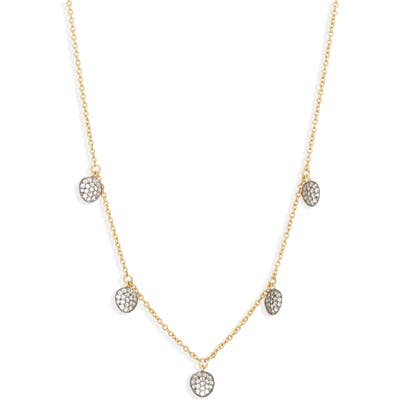 Nadri Sirena Disc Shaker Necklace