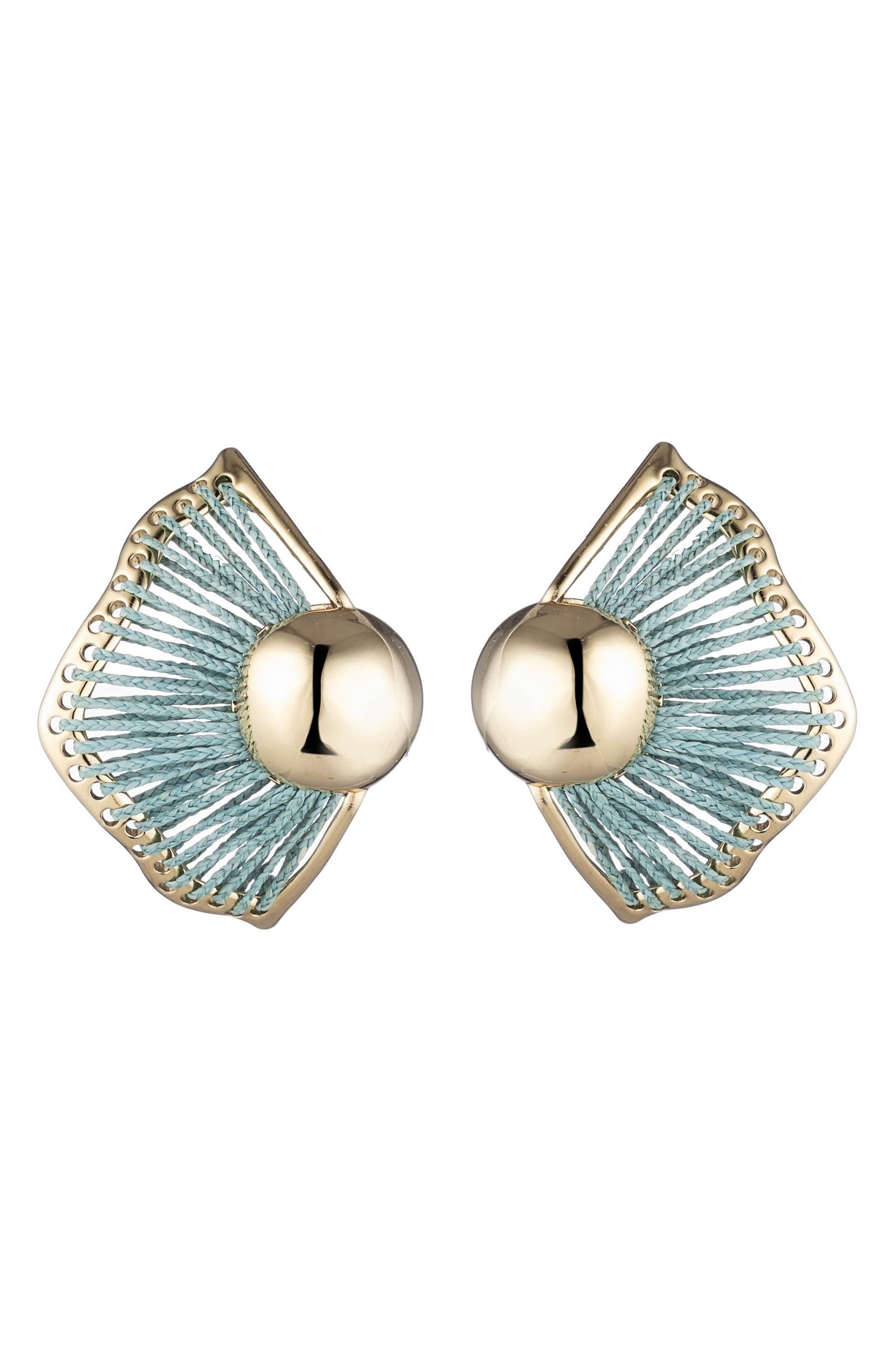Wren Statement Stud Earrings