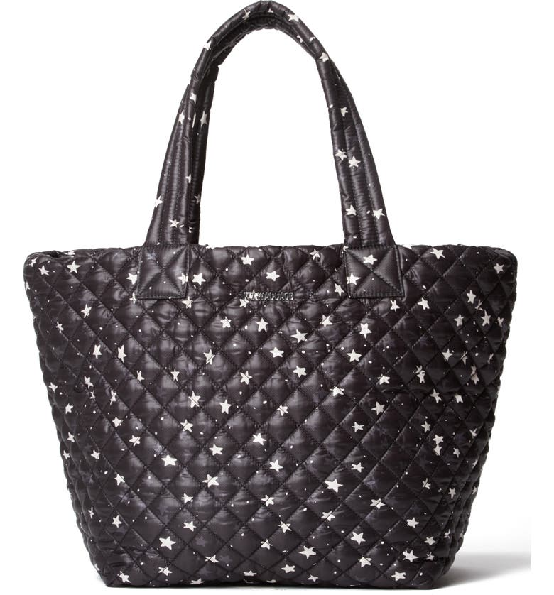 MZ WALLACE Medium Metro Tote, Main, color, STARLIGHT