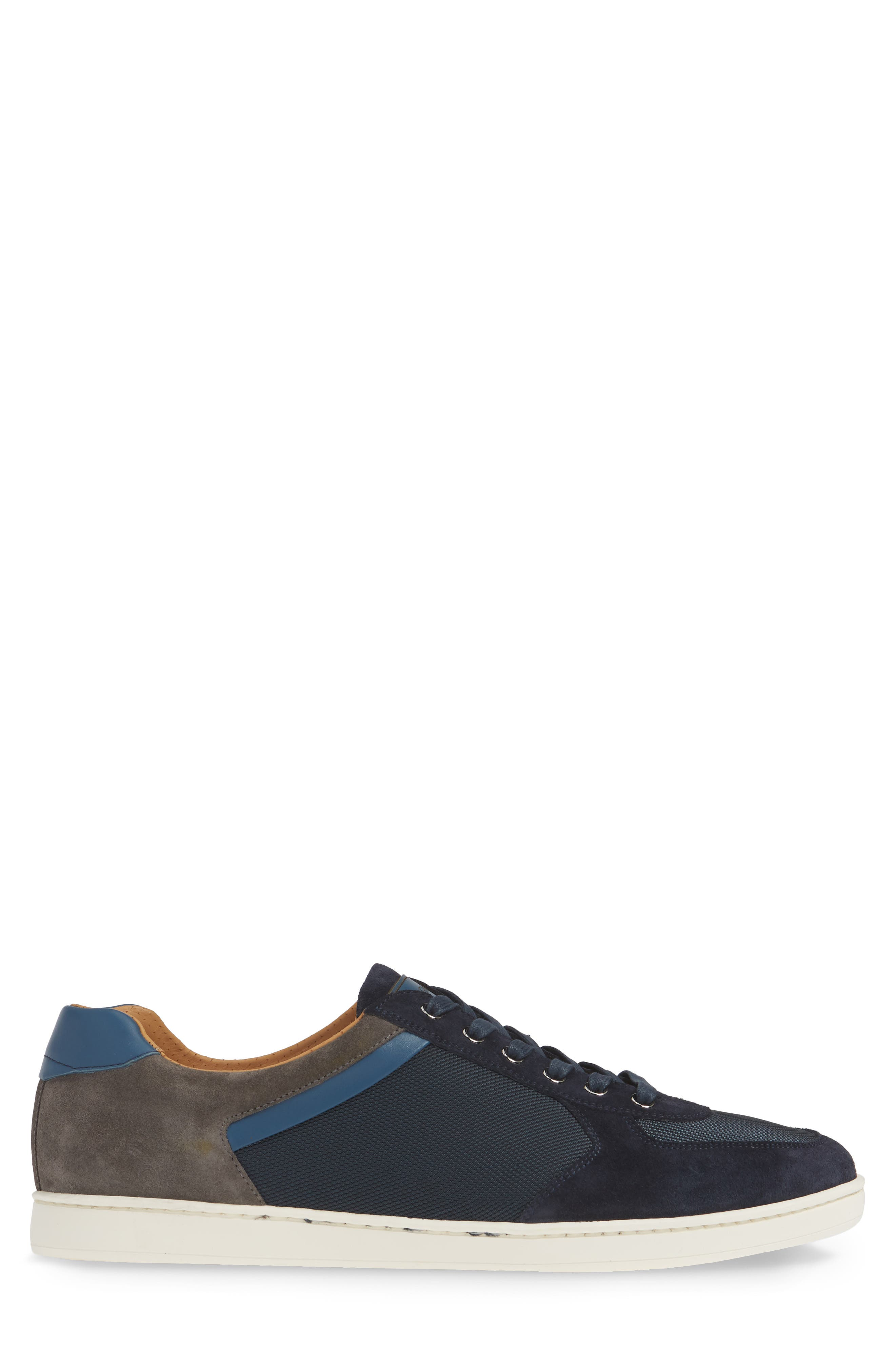 ,                             Echo Sneaker,                             Alternate thumbnail 3, color,                             NAVY SUEDE
