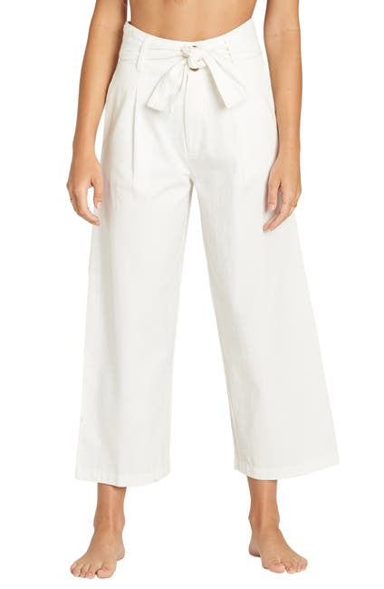Image of Billabong Now or Never Wide Leg Crop Pants