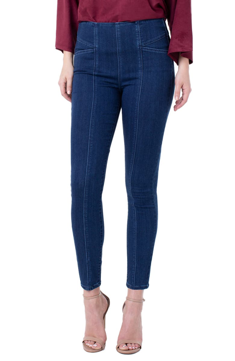 LIVERPOOL Reese High Waist Ankle Skinny Jeans, Main, color, BRECKENRIDGE