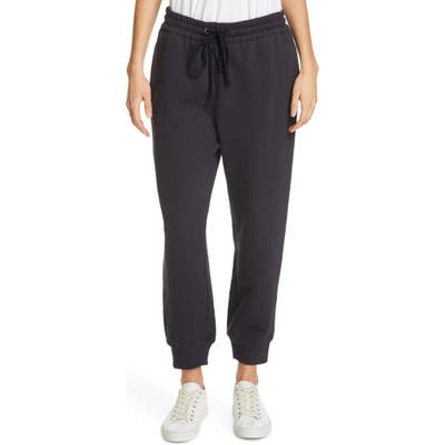 James Perse Relaxed Luxe Sweatpants, Black