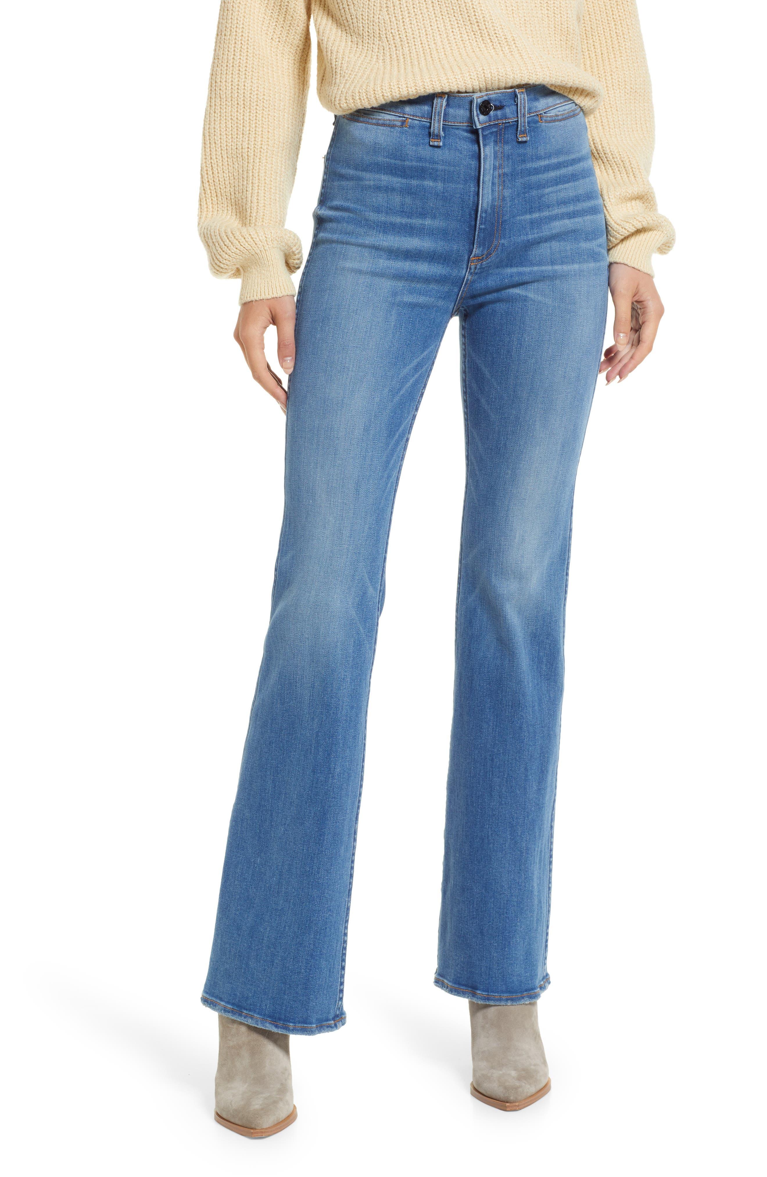 Love Flare Leg Jeans