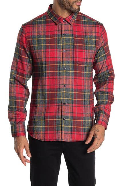 Image of 7 Diamonds Young Blood Plaid Flannel Shirt