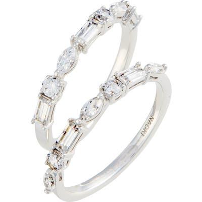 Nadri Fanfare Cubic Zirconia Ring Set