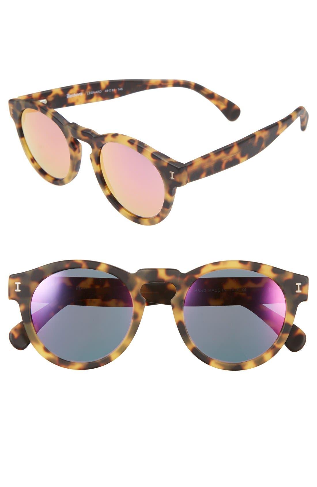 ,                             'Leonard' 47mm Sunglasses,                             Main thumbnail 77, color,                             205