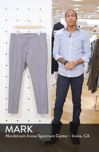 Slim Straight Leg Textured Chinos, sales video thumbnail