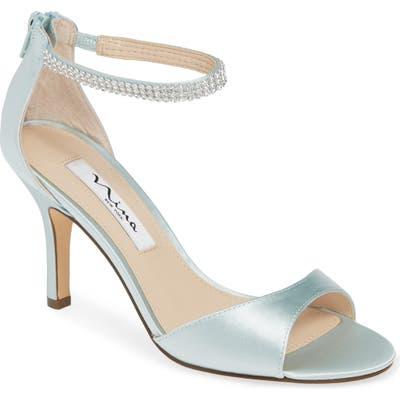 Nina Volanda Ankle Strap Sandal, Green