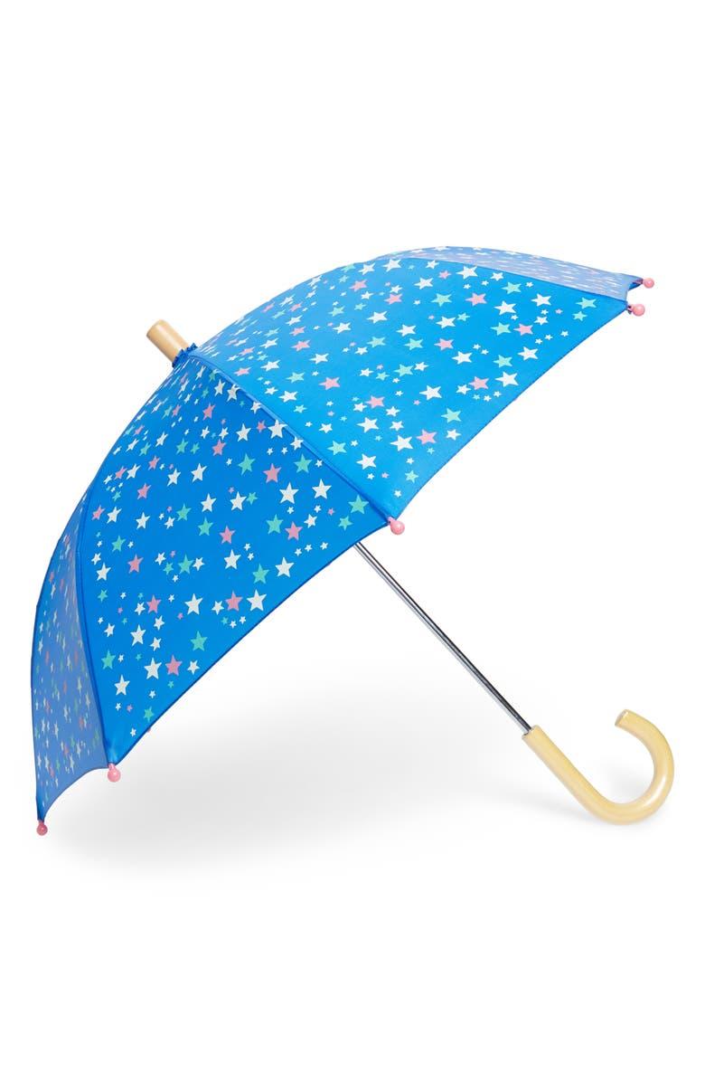 HATLEY Galactic Stars Umbrella, Main, color, BLUE