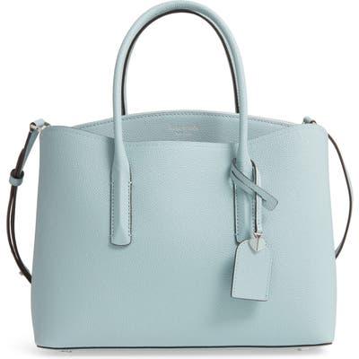 Kate Spade New York Large Margaux Leather Satchel - Blue