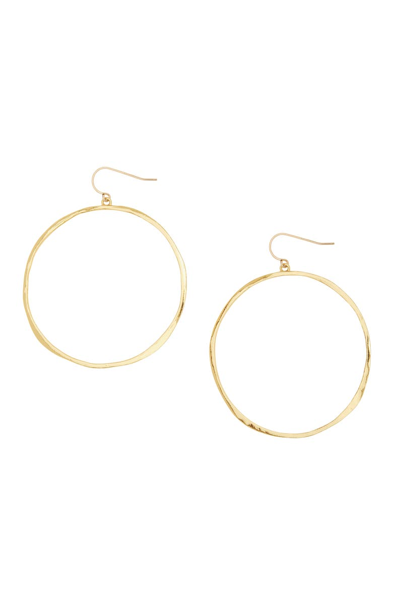 GORJANA G Ring Hoops, Main, color, GOLD
