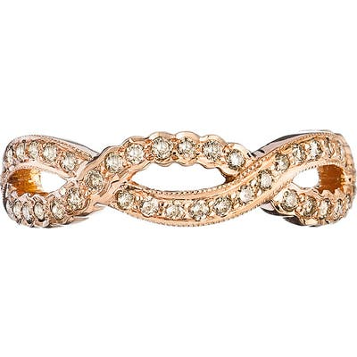 Sethi Couture Champagne Diamond Infinity Ring