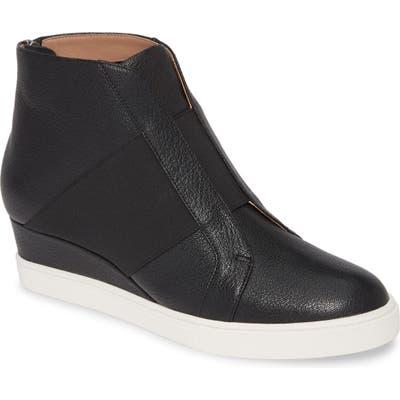 Linea Paolo Amber Wedge Sneaker, Black